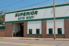 Superior Auto Body's collision repair services